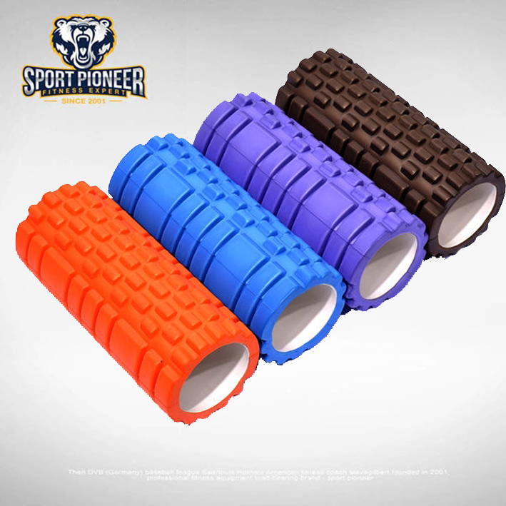 deluxe Hollow Yoga Foam Roller for exercise