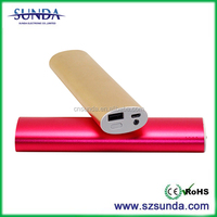 Alibaba express 8800MAH sos power bank for cell phone With flashlight made in china