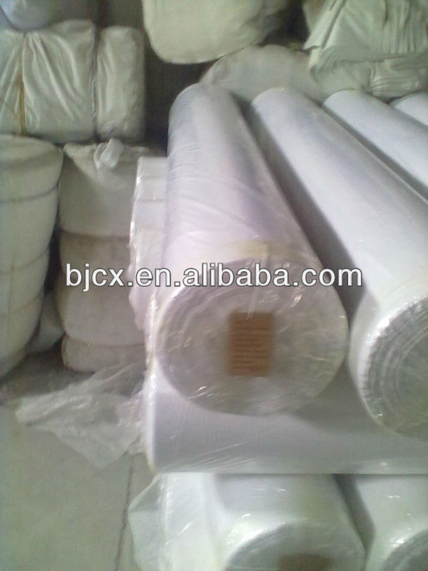 "make-to -order supply type 100% cotton woven plain 20x20 60x60 57/58"" b/w fabric"