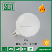 Globe lighting G95 G120 lamp E27 E22 Base SMD High power led light 100w