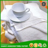 Good Quality Custom Soft Plain White Hotel Face Cotton Towel