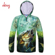 2017 Men Fishing Clothes New Summer UV Protection Moisture Wicking Quick-drying Breathable Fishing Outdoor Sports Shirt