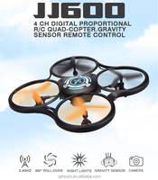 JJRC JJ600 2.4G 4CH drone 6 Axis Quadcopter Gravity sensor RC Quadcopter Remote Control Helicopter
