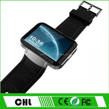 Hot Products 2017 Smart Phone Watch Dm98 Ultra Long Standby Bluetooth 4.0 Mtk 6572 Heart Rate Smart Watch Mobile