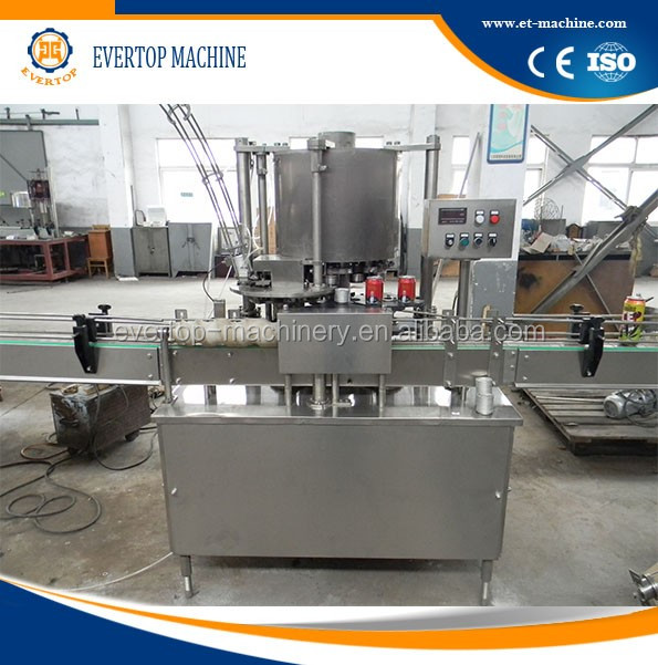 can / debe filling and sealing machine
