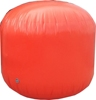 orange inflatable floating can marker buoy