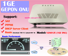 1GE ftth epon onu modem With Router fiber optic terminal Device FTTH box Item