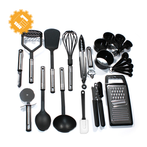 Best selling products 2017 in usa 22 pcs nylon multi function cooking tools with logo custom box