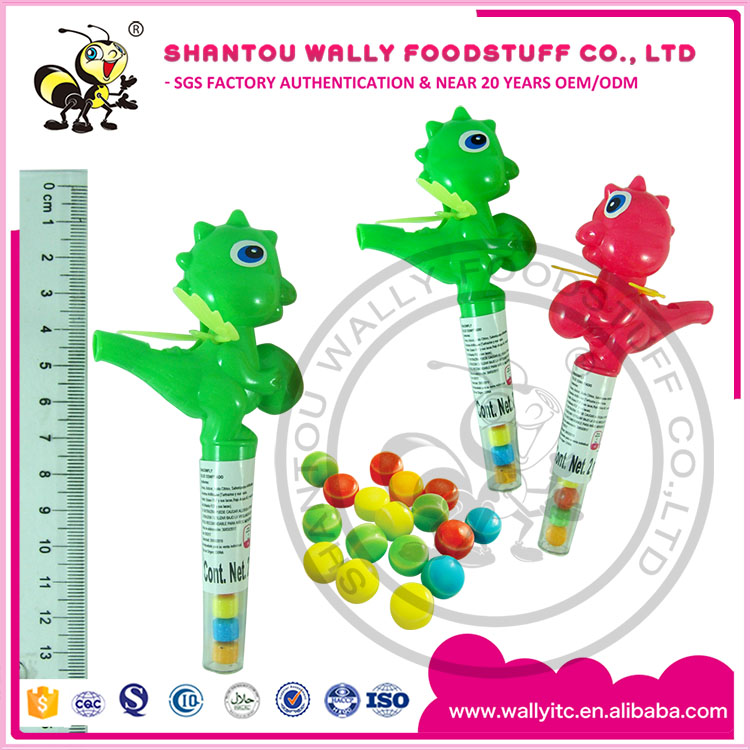 Cartoon Candy China Manufacturer Dinosaur Whistle Toy