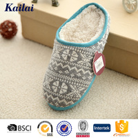 china wholesale factory eva printed slipper for woman