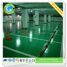 Parking lot color self-leveling epoxy floor coating for concrete floor