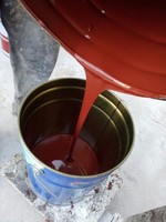 Polyurethane waterproof paint single component bitumen paint
