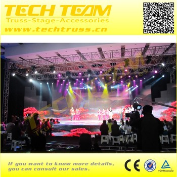 Aluminum Alloy 6082-T6 Lighting Aluminum Truss Roof System