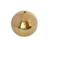 20mm hollow large copper ball/brass ball with 3mm hole