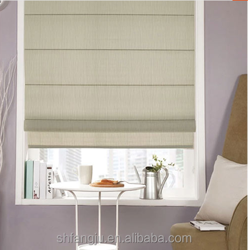2017 hot sale Roman Blinds with Blackout Lining