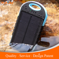New Product 2016 Hot Sale Dual Usb Portable Universal 12000mAh Solar USB Charger For Mobile Cell Phone