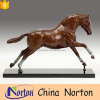 chinese garden decoration life size horse statues for sale NTBH-HR228X