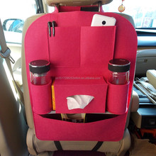 Auto Car Seat pocket hanger Pocket Cover Multi function carriage Bag holder liquid paper hanging storage case item pounch