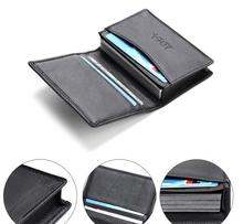 Large capacity business card holder real leather name card holder for sales