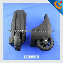 10CM black color caster wheel for suitcase