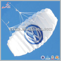 1.2M Wingspan promotional gifts parachute kite from the kite factoy