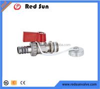 HR2370 butterfly handle brass stove valve/beer valve