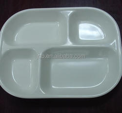 Mess use square fashion design melamine snack tray food tray