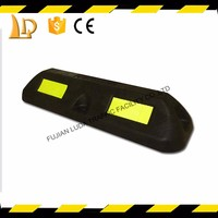 Super durable Synthetic car parking wheel stopper with top quality