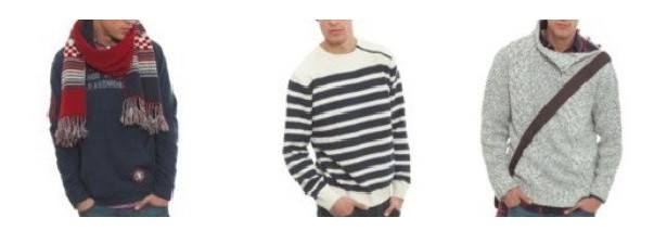 sweater in oll color for men