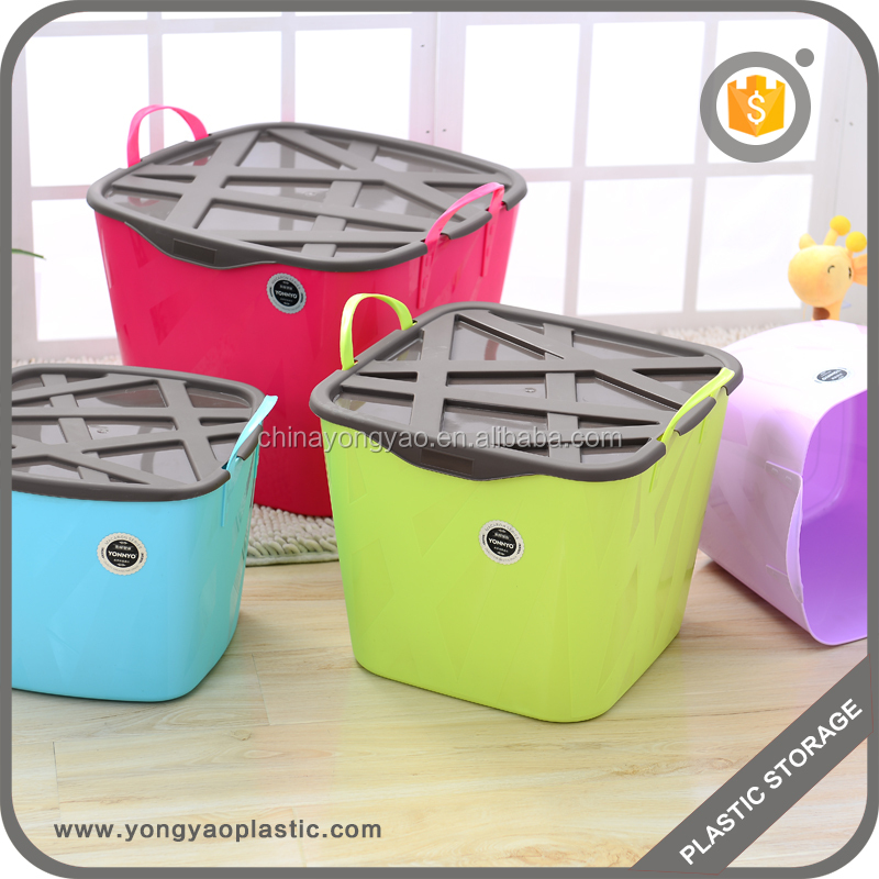 best price top supplier wholesale plastic storage bag bin basket containers for toy and other stuff