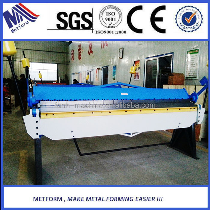 Hand operated manual bending machine /segment blade folding machine Europe style