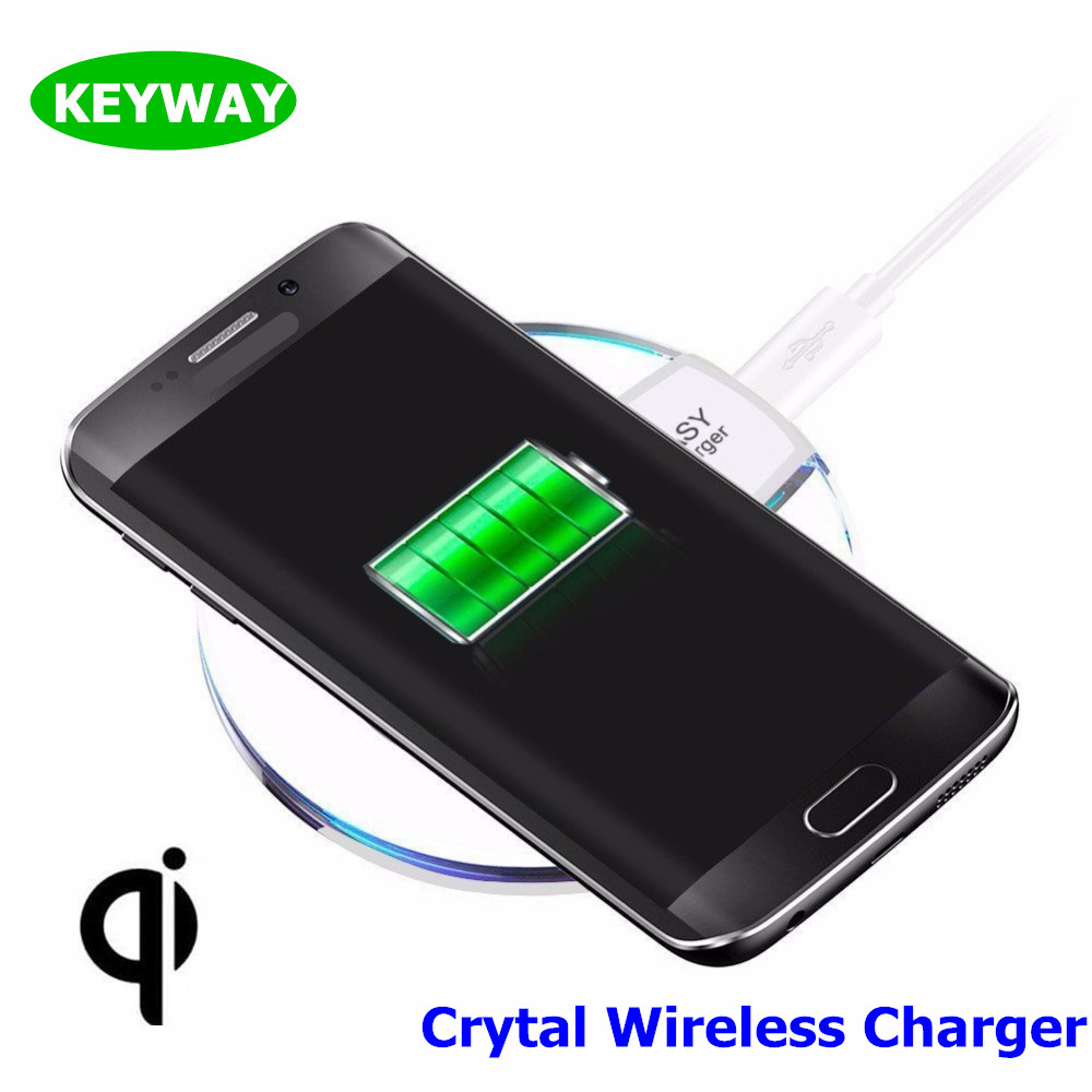 Classic Q7 Crystal Fantasy Wireless Charger Pad Universal Qi wireless Charger For Iphone 8