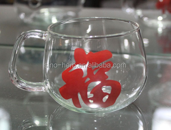 Handmade Good Design Chinese Tea Accessories Small Glass Tea Cups