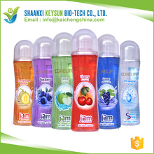 Fruity Oral sex lubricant Liquid sex personal lubricant Jam Lube