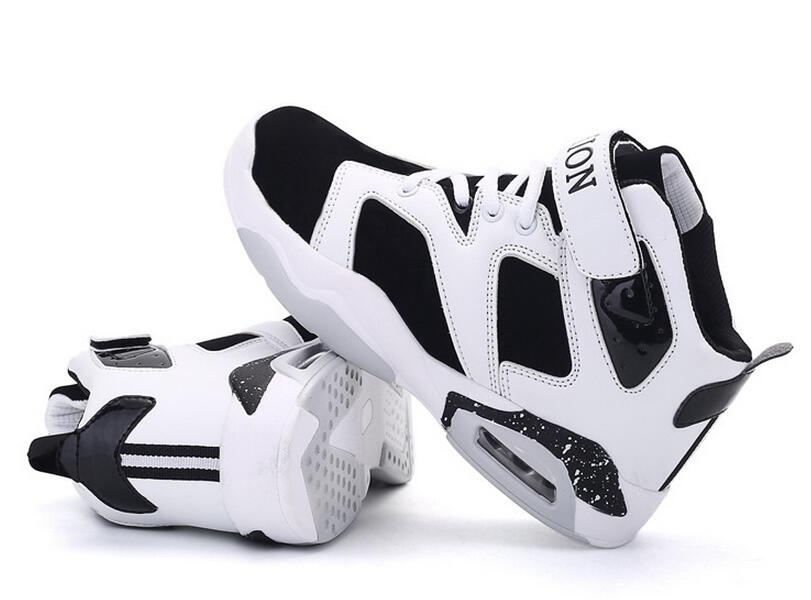 Hot sale fashion high top basketball air sport shoes for men