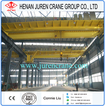 Popular 125/32t double girder electric trolley overhead travelling crane
