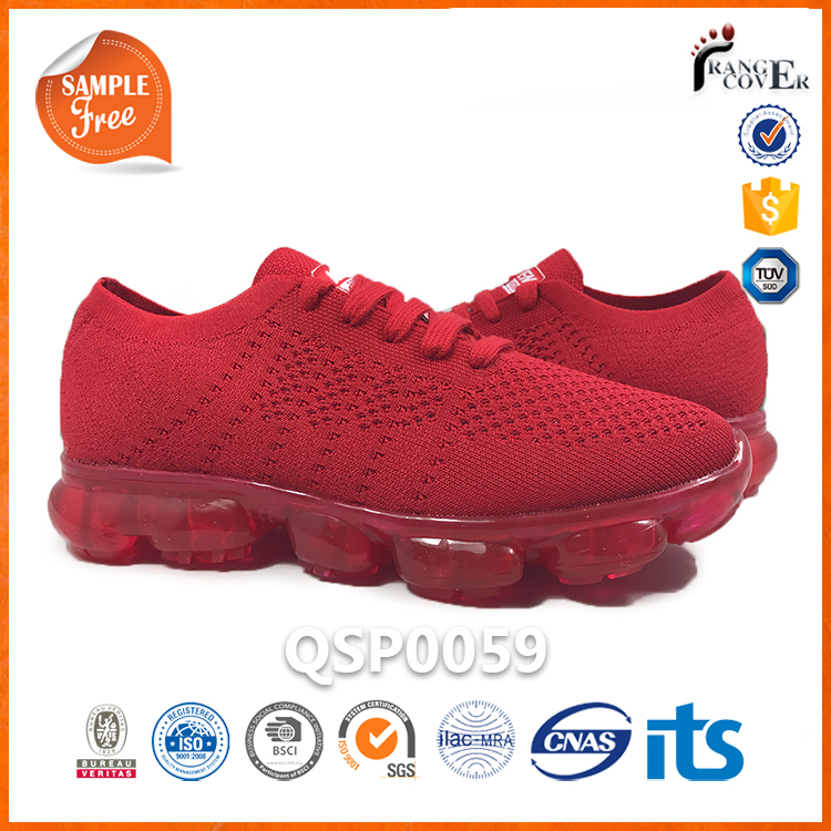Women Men Air Breathable Flyknit Max Cushion Sole Running Sports Shoes