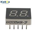 KH20305ASR-2F Thin REF 2 digit 0.30inch Common anode small 7 segment LED display