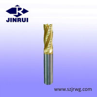 JR162 3mm - 16mm Solid Carbide rough cutting end mills