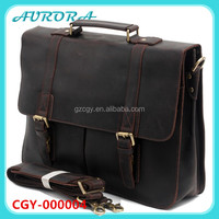 Wholesale Real Leather Business Bag For