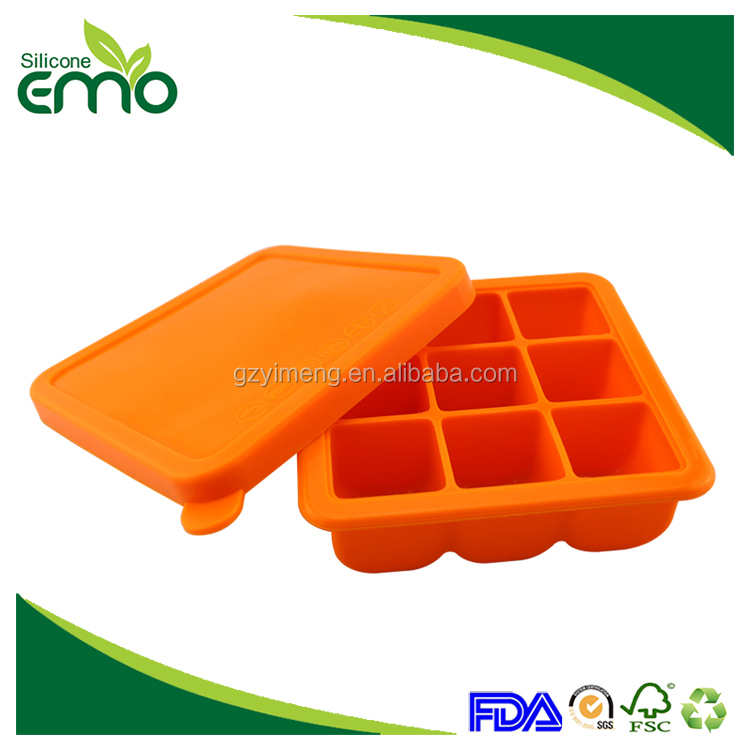 9 Cavities Lovely New Design Promotional Personalized Pellet Ice Cube Tray