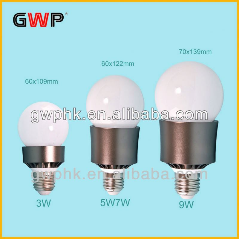 CE/ RoHS high-quality cree q5 5w high power led bulb