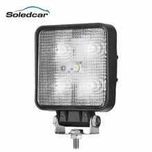 Car accessories 2016 Rectangle super bright Spot 15W LED work light, LED driving light, Flood/Spot Beam waterproof IP68