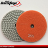 Top Quality Dry/Wet Used 4 Inch Resin Diamond Polishing Pads for Granite and Marble Stone