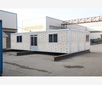 prefab durable store design flat pack used shipping container house
