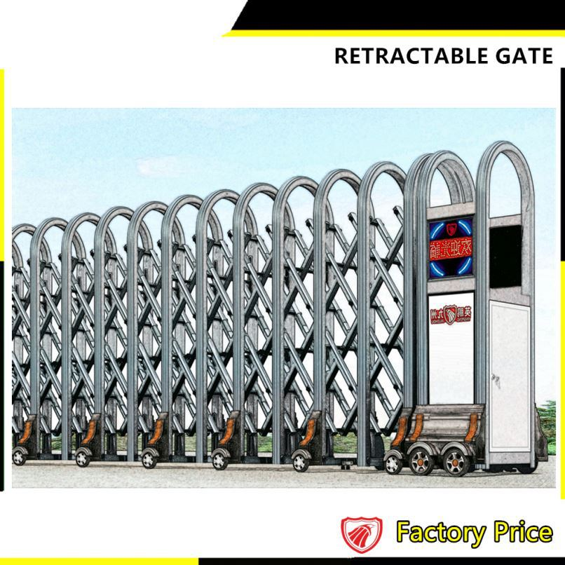 Telescopic Sliding Gate Grill Design