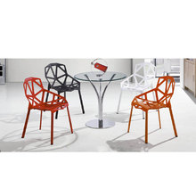 Colorful plastic chair for store/house/faminly/school