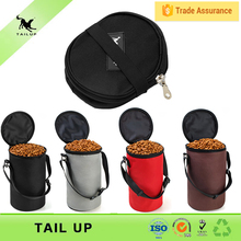 TAILUP New Arrival For Outdoor Travel Collapsible Bag Pet Dog Bowl