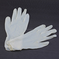 Disposable Powdered/powder free Latex exam hand Gloves for working