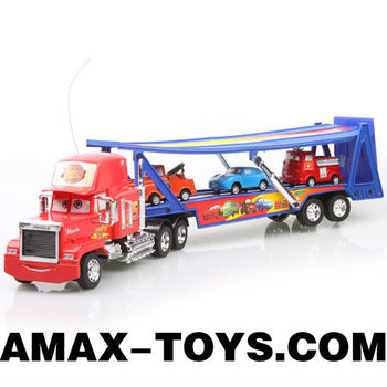 rcc-1001912A toy truck trailer rc 4ch cartoon remote control trailer